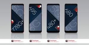 Snapdragon 778G+, 695, 680 ve 480+ Duyuruldu