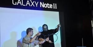 Samsung Galaxy Note 2 Türkiye Lansmanından Görüntüler