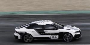 Kendini Süren Audi RS 7'den Görüntüler