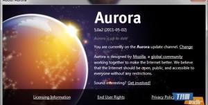 Firefox Aurora İle Tüm Sürümleri Test Edin