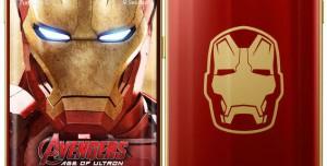 Samsung Galaxy S6 Edge Iron Man Sürümü Fotoğrafları
