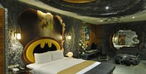 Batman Temalı Otel Odası