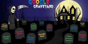 Google Mezarlığına Gömülen Projeler