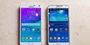 Samsung Galaxy Note 4 Fotoğrafları