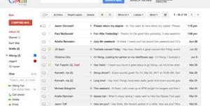 Gmail'e Yeni Google Arayüzüne Benzer Tema