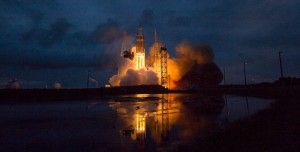 Orion'un Başarılı Test Uçuşundan Görüntüler