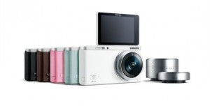 Samsung'dan Selfie'cilere Özel Kamera: Samsung NX mini
