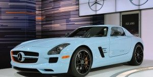 New York 2011: Mercedes-Benz SLS AMG