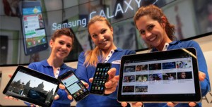 Samsung Galaxy Tab 2 ve Galaxy S 2