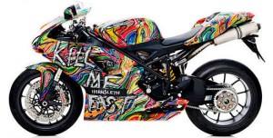 Özel Tasarım Ducati Kill Me Fast Serisi