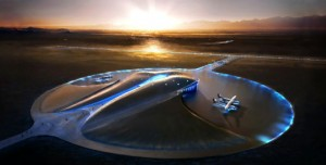 Virgin Galactic Uzay Limanı Açıldı