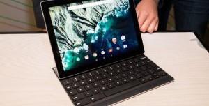 Google Pixel C, İnce Çıkarılabilir Klavyeyle Geliyor