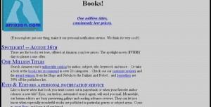 Popüler Web Siteleri İlk Açıldıklarında Nasıl Görünüyordu?