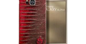 Samsung Galaxy Alpha Sınırlı Deri Versiyonu Fotoğrafları