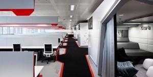 Google'ın Bilim Kurgu Setlerini Anımsatan Londra Ofisi