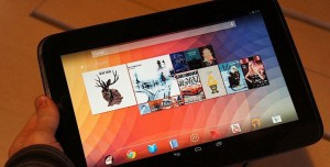 Google Nexus 10 Tabletten Görüntüler