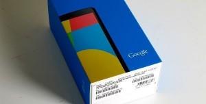 Google Nexus 5 Kutu Açılımı