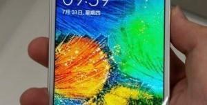 Samsung Galaxy Alpha Fotoğrafları
