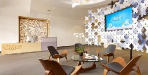 Skype'ın Palo Alto'daki Modern Ofisi