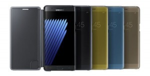 Samsung Galaxy Note 7 Resmi Aksesuarları
