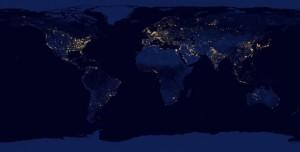 NASA Dünya'nın Gece Fotoğraflarını Yayınladı