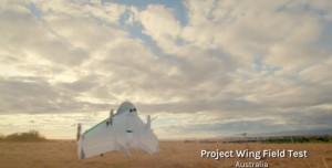 Google Project Wing'den Görüntüler