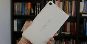 Beyaz Google Nexus 7 Fotoğraf Galerisi