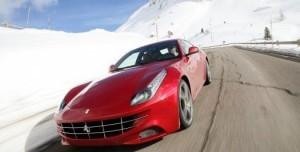 Ferrari FF İtalyan Alplerinde