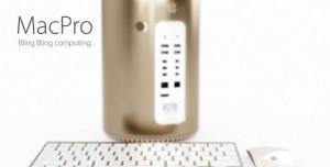 Altın Renkli Yeni Mac Pro Nasıl Görünecek?