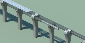 Hyperloop Ulaşım Sistemi Skeçleri