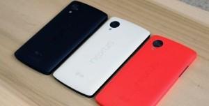Kırmızı Renkli Google Nexus 5 Fotoğrafları
