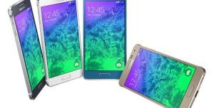 Samsung Galaxy Alpha Basın Fotoğrafları