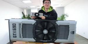 NVIDIA GeForce GTX 690, Lego Tuğlalarıyla Yapıldı