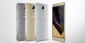 Huawei Honor 7 Büyüleyici Metal Kasa, 20 MP Kamera, Parmak İzi Sensörüyle Geliyor