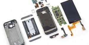 HTC One M8 Parçalarına Ayrıldı