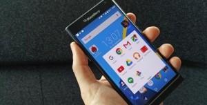 BlackBerry'nin Beklenen Telefonu Priv, Görüntülendi