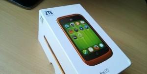 Firefox OS'lu İlk Telefon ZTE Open Kutusundan Çıktı