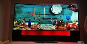 LG 105 inç Kavisli 4K TV Fotoğraf Galerisi