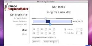 iPhoneRing ToneMaker