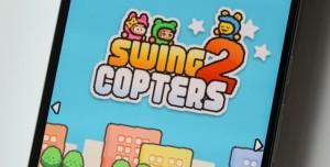 Flappy Bird'ün Yeni Versiyonu Swing Copters 2 Android ve iOS için Yayınlandı!