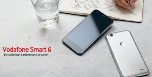 Vodafone, Yeni Smart 6 Akıllı Telefon, Tablet ve Saatini Tanıttı