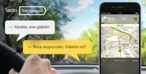 Yandex Navigasyon'a Sesli Komut Özelliği Geldi