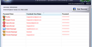 Facebook Password Decryptor