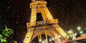 Paris Yağmur Duvar Kağıdı