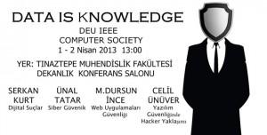Bilgi Güvenliği Seminerleri Başlıyor: Data is Knowledge