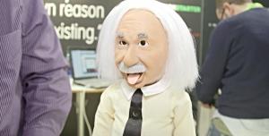 Einstein Robotu'nun Evinize Girmesini İster Misiniz?
