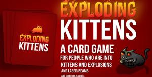 Kickstarter'da Rekora Koşan Kart Oyunu: Exploding Kittens