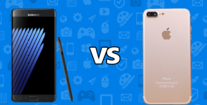 Samsung Galaxy Note 7 ve iPhone 7 Plus Karşılaştırması