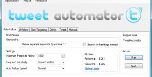 Tweet Automator