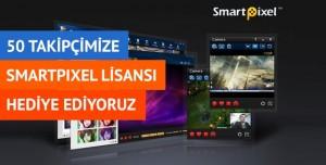 50 Takipçimize SmartPixel Lisansı Hediye Ediyoruz (Kampanya Sona Ermiştir)